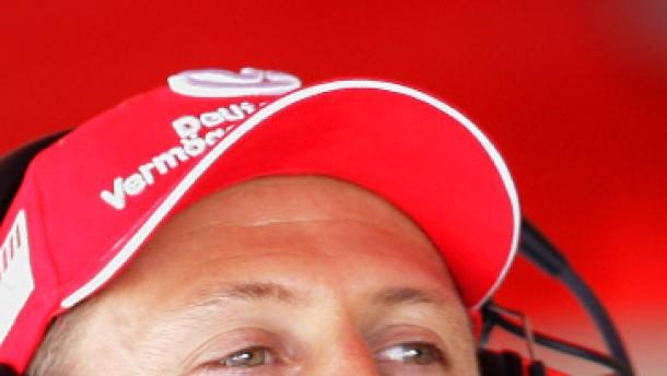 Schumacher als Maskottchen