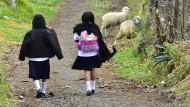 Kinder ohne Eltern auf gefährlicher Reise