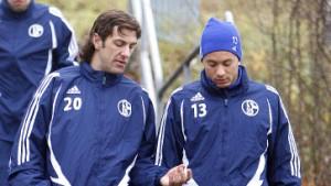 Schalke suspendiert Krstajic und Rakitic