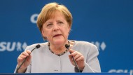 Merkel fordert mehr Eigenständigkeit Europas