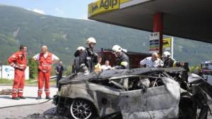 Tote bei Tankstellen-Brand auf Brennerautobahn