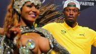Usain Bolt tanzt Samba und träumt von Gold
