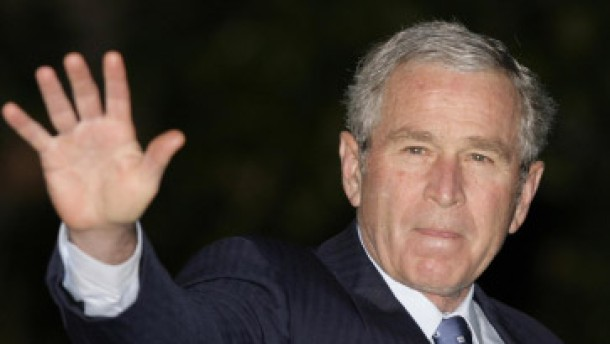 Bush im Nahen Osten: Historische Friedensmission - Machtwechsel in ...