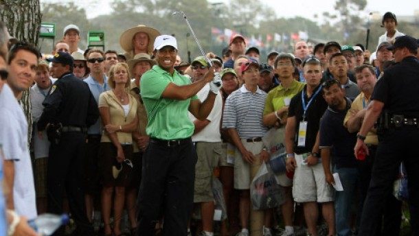 Auch ein hinkender Woods ist Herr der Lage