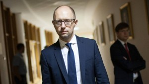 Ukrainischer Regierungschef Jazenjuk tritt zurück