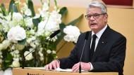 Gauck ruft nach Amoklauf zu Zusammenhalt auf