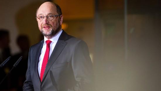 Schulz kündigt Wahlkampf um soziale Gerechtigkeit an