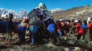 Tödliches Unglück trübt Mount-Everest-Feiern