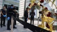 Bombenanschlag auf Luxuskaufhaus