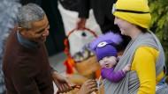 So wird am Weißen Haus Halloween gefeiert