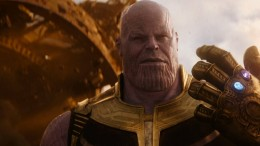 Thanos teilt aus