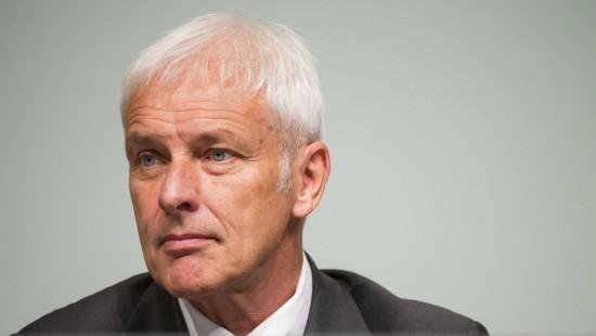 Müller bittet VW-Aktionäre um Entschuldigung