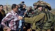 Palästinenser-Minister stirbt nach Gerangel mit Soldaten