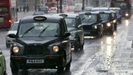 Im Taxi durch die britische Hauptstadt