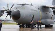 Probeflug mit Militärtransporter A400M