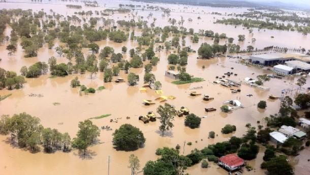 Erstes Todesopfer bei Überschwemmungen in Australien