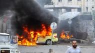 Mindestens 101 Tote bei Explosionen in zwei syrischen Küstenstädten