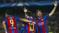 Dortmund weiter, aber Barcelona stiehlt BVB die Show