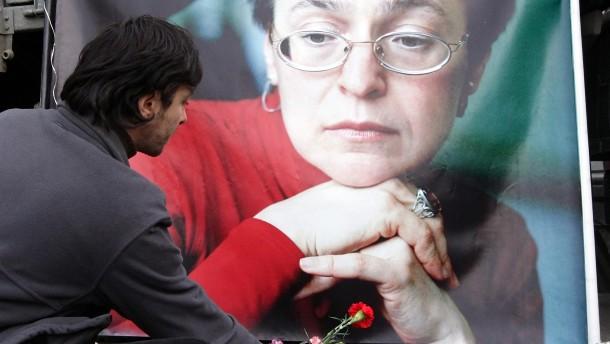 Mutmaßlicher Politkowskaja-Mörder gefasst