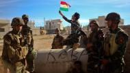 Peschmerga drängen IS zurück