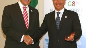 G-8-Staaten fordern friedliche Lösung von Teheran
