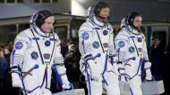 Rekord-Mission auf der ISS gestartet