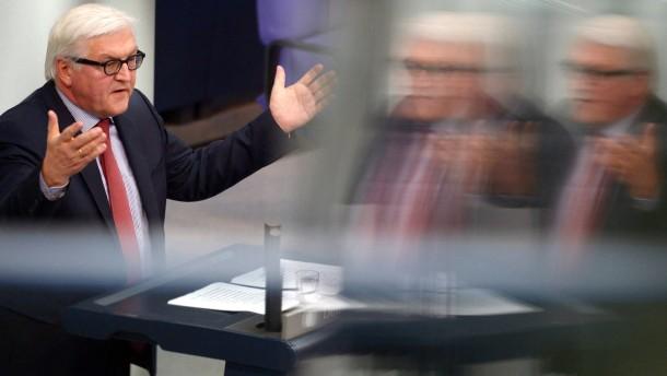 Steinmeier: Viele der hehren Ziele nicht erreicht