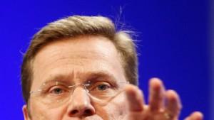 """Westerwelle: Keine """"Blankoschecks"""" für Griechen"""