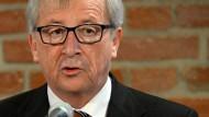 Juncker sieht keine rasche Einigung mit Partnern
