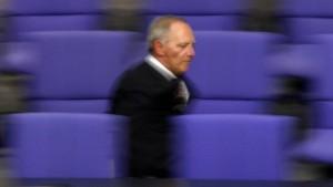 Schäuble erntet harsche Kritik