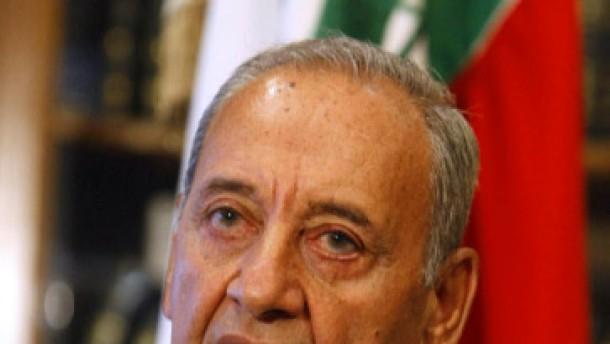 Berri zum Parlamentspräsidenten gewählt