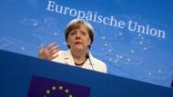 Bundeskanzlerin Merkel zur Einigung mit Griechenland
