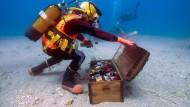 Ein Weinkeller auf dem Meeresboden