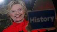 Demokraten küren Clinton zur Präsidentschaftskandidatin