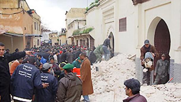 Viele Tote bei Einsturz eines Minaretts