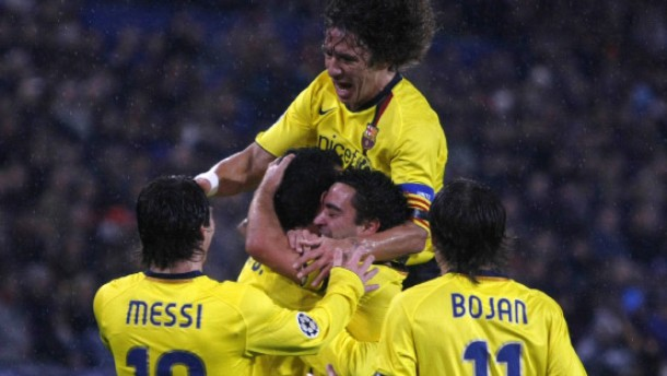 5:0 - Barca zaubert in Basel