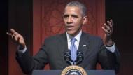 Obama stärkt Muslimen den Rücken