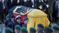 Abschied von Helmut Schmidt