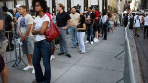 Panne beim iPhone-Verkaufsstart in Amerika