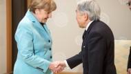 Merkel zu Besuch in Japan