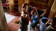 Hilfsbedürftig: Waisenkinder in Nairobi in Kenia