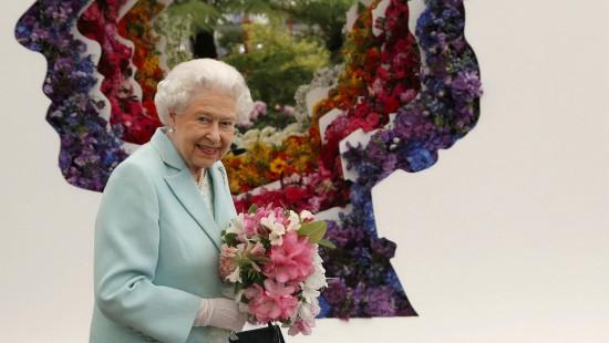 Royale Blütenpracht mit der Queen