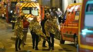 Mehr als 120 Tote bei Serie von Anschlägen in Paris
