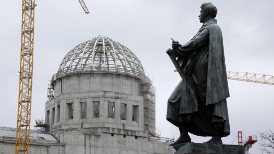 Das Berliner Schloss nimmt Gestalt an