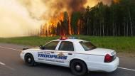 Heftige Waldbrände in Alaska