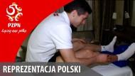 Polens Nationalmannschafts-Reporter im Hotelzimmer von Robert Lewandowski
