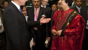 Gaddafi: Fünf Milliarden, oder Europa wird schwarz