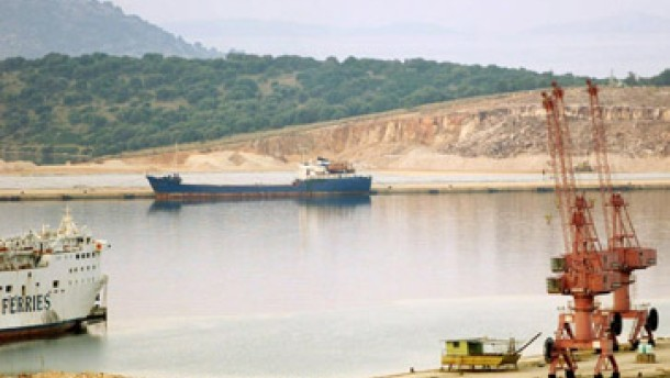 Schiff mit 680 Tonnen Sprengstoff an Bord gestoppt