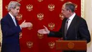 Amerika und Russland wollen in Syrien-Frage weiter zusammenarbeiten