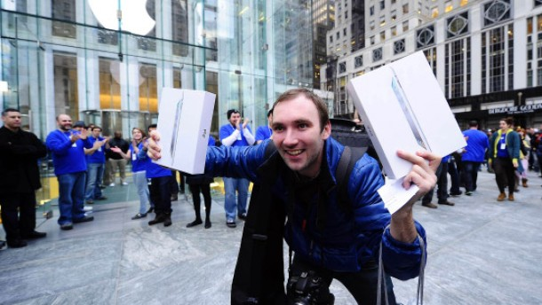 Ansturm auf Apple-Läden
